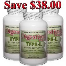 Digestinol - L-Glutamine (3 Bottles)